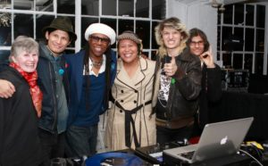 DJing at Studio 450 with my WAFF family, the one and only, Nile Rodgers and the Wolfpack