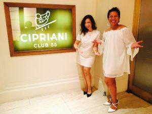 DJing at CIPRIANI with my assistant Jen Maler