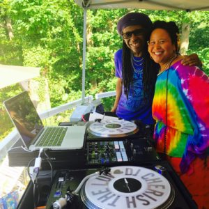DJing for Nile Rodgers, Oprah, Jeni Stepanek, Annapolis MD