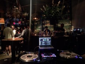DJing at L'Apicio NYC, for the Fall/Winter Season launch at Heritage Radio Network.