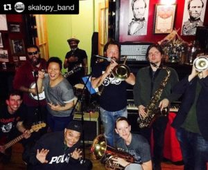 Jalopy, Red Hook Brooklyn with SKAlopy