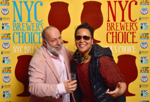 DJing for FoodKarma events, NYC Brewers Choice 2017, with my radio host brother, the one and only Jimmy Carbone (Jimmy's No. 43)