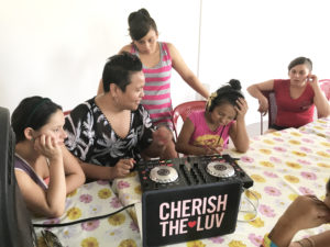 An ordained minister, Rev. & DJ CherishTheLuv has been doing Music Missionary work at an orphanage in Ecuador. She's been teaching self-expression and healing, under the guise of DJing, to traumatized teenage girls.